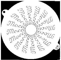 Sieb-Schablone Mocca, Einteilung: 16 St.