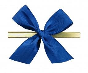 Clip-Schleife, 14 mm Schleife blau 1 VE = 250 Stück