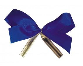 Clip-Schleife, 22 mm Schleife blau 1 VE = 250 Stück