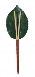 Kirschstiele (2er), 1 VE = 100 St. 1 Blatt, 5 cm / 2 Stängel, 3 cm