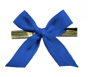 Clip-Schleife, 10 mm , blau