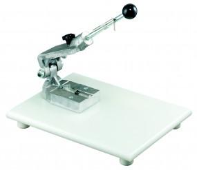Presse für Form für Marzipan:en aus Aluminium