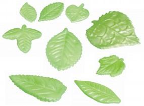 Form für Marzipan: 9 Blätter