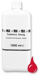 Lebensmittellack-Farbstoff hochkonz., 1000 ml, erdbeerrot