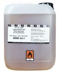 GLANZ-fix, Lebensmittellack, 5000 ml