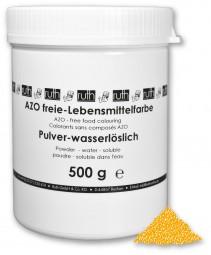 Lebensmittelfarbstoff, gelb, 500 g