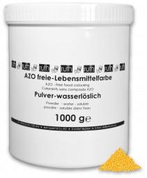 Lebensmittelfarbstoff, gelb, 1000 g