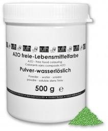 Lebensmittelfarbstoff, grün, 500 g