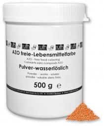 Lebensmittelfarbstoff, orange, 500 g