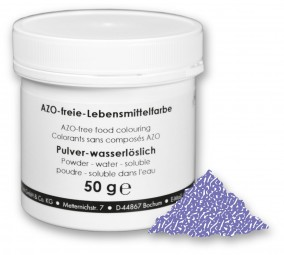 Lebensmittelfarbstoff, violett, 50 g