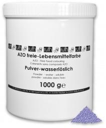 Lebensmittelfarbstoff, violett, 1000 g