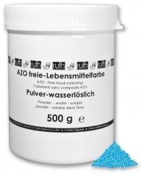 Lebensmittelfarbstoff, blau, 500 g