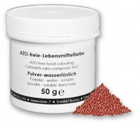 Lebensmittelfarbstoff, Pulver, Ammonsulfit-Zuckerkulör E150 d 50 g, wasserlöslich, braun