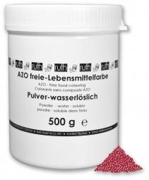 Lebensmittelfarbstoff, Pulver, Echtes Karmin (E120), 500 g wasserlöslich, rot (bläulich)