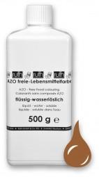 Lebensmittelfarbstoff, hell-braun, 500 g