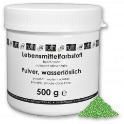 Lebensmittelfarbstoff, Pulver, 500 g, wasserlöslich, grün