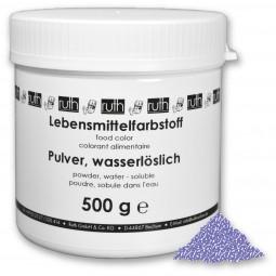 Lebensmittelfarbstoff, Pulver, 500 g, wasserlöslich, violett