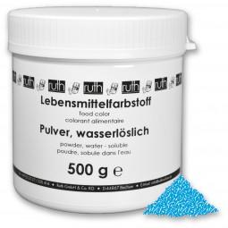 Lebensmittelfarbstoff, Pulver, 500 g, wasserlöslich, blau *wird ersetzt durch 7108/0500*