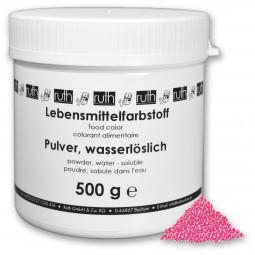 Lebensmittelfarbstoff, Pulver, 500 g, wasserlöslich, rosa