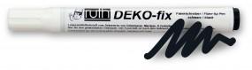 Deco-fix Faserstift schwarz