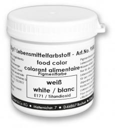 Lebensmittelfarbstoff, weiß, 50 g