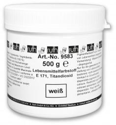 Lebensmittelfarbstoff, weiß, 500 g