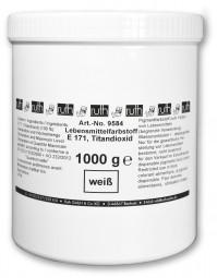 Lebensmittelfarbstoff, weiß, 1000 g