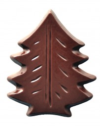 Form für Schoko-Dekore: Tanne, (10 x) 18 St.