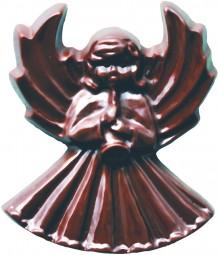 Form für Schoko-Dekore: Relief, Engel gr., (10 x) 4 St.
