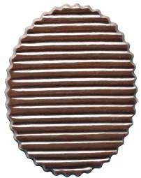 Form für Schoko-Dekore: Florent./oval/11,3x8cm/(10x) 3 St.