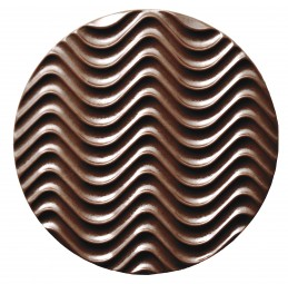 Form für Schoko-Dekore: Florentiner, rd./8 cm (10 x) 3 St.
