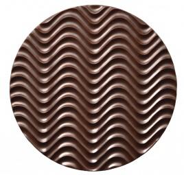 Form für Schoko-Dekore: Florentiner, rd./10 cm (10 x) 2 St.