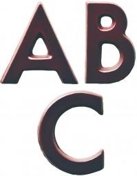 Form für Schoko-Dekore: ABC / Bausatz